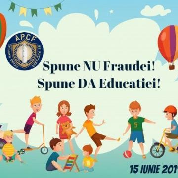 Spune NU Fraudei! Spune DA Educatiei! 2019