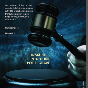 Campania  Europol : NU FI UN CARAUS DE BANI !