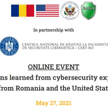 În 27 mai, APCF va participa la evenimentul online Cybersecurity